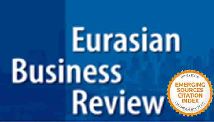Special Issue Of Eurasian Business Review  Datis Khajeheian